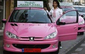 По Мексике ездит «Розовое такси»