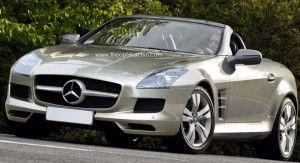 Mercedes готовит новое поколение родстера SLK