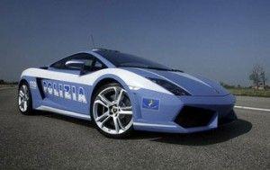 Полиция Италии пересела на Lamborghini