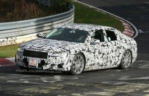 Прототип Audi A8 вновь на кольце