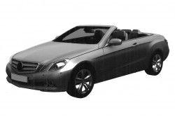Официальные «картинки» проекта кабриолета Mercedes-Benz E-Class 2010