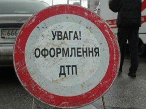 Под Киевом столкнулись семь машин и фура