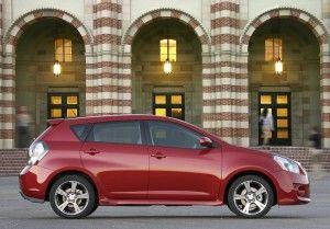 Отзыв Pontiac Vibe 2009-2010