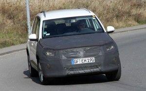Обновленный Volkswagen Tiguan, перед дебютом в Женеве
