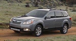 Subaru Outback 2010 назван внедорожником года по версии Motor Trend