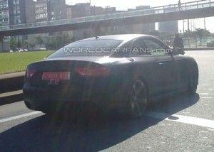 Audi RS 5 замечена в Барселоне