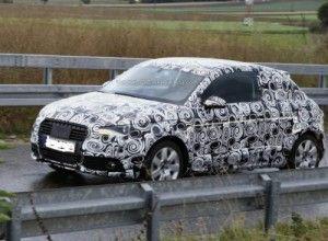 Впервые замечен прототип Audi A1