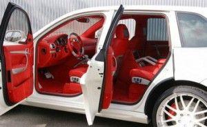 Porsche Cayenne «кровь с молоком» в исполнении Gemballa