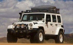 Jeep Wrangler превратился в дом на колесах