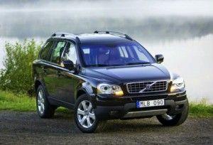 Незначительные обновления коснутся Volvo XC90 в 2010 году