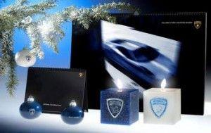 Lamborghini отдала дань Рождеству