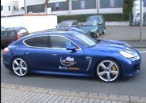 9ff Panamera замечен на улицах Германии