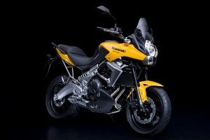 Модернизированный Kawasaki Versys 2010