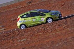 Форд Фиеста ECOnetic добилась 2.9 л. на 100 км.