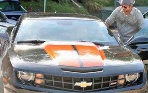 Брэд Питт ездит на «киношной» автомашине