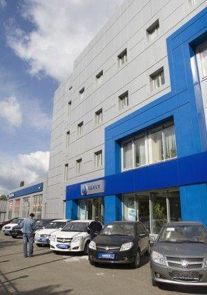 Киевский автосалон Джили – самый лучший во всем мире