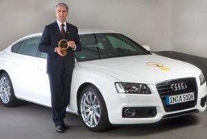 Ауди A5 Спортбэк обзавелся «Золотым рулем»