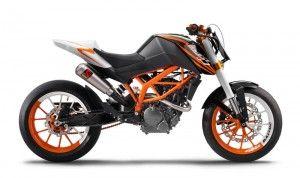 Представлен KTM 125