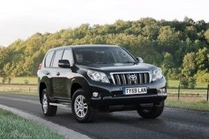 Toyota Land Cruiser 2010 стал доступен в Великобритании