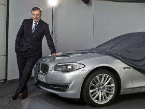 BMW показала первое фото нового поколения BMW 5-Series