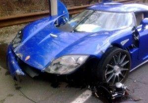Потенциальный покупатель разбил суперкар за миллион долларов