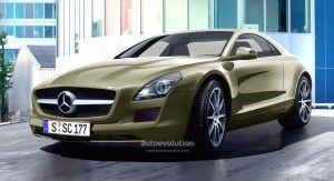 Следующее поколение Mercedes Benz SLK