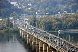 Открыта развязка на пересечении Днепровской набережной и пр. Воссоединения