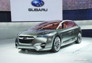 Subaru вновь заговорила о гибриде