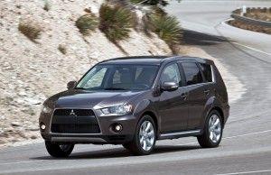 Стала известна стоимость Mitsubishi Outlander 2010