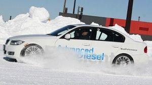 BMW принимает на курсы зимнего вождения