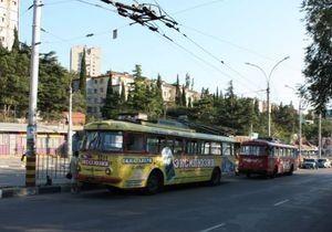 На ЮБК закончено перемещение троллейбусов: не известные урезали 900 километров кабелей