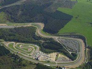 На автотрассе Формулы-1 обрушился туннель