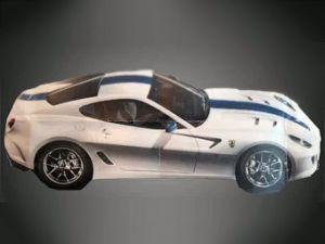 Вышло 1-ое изображение заряженной версии Феррари 599 GTB Fiorano