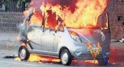 Тата Моторс расследует причины возгораний Нано