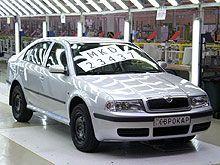 Автозавод Еврокар закончил изготовление Шкода Октавия Tour