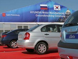 Организация Хендай хочет выполнять в РФ 500 миллионов авто ежегодно