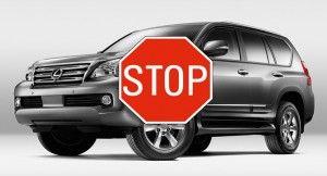 Тойота остановила реализации Лексус GX 460