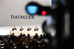 Даймлер уменьшил бизнес в Иране