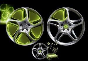 Мерседес Бенц предлагает свежие колесные диски из легкого сплава