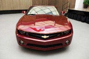 General Motors продемонстрировал первые фото автомобиля с откидным верхом Шевроле Камаро