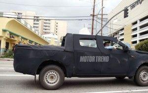 Форд Ranger 2012 замечен в Беверли Хиллз