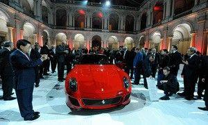 Все образцы Феррари 599 GTO распроданы задолго до премьеры