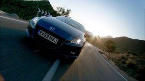 Смешанное купе Хонда CR-Z на видео