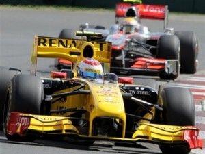 В. Петров захватил первые очки в Формуле-1
