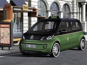 Автоконцерн Фольксваген продемонстрировал в Ганновере электрическое такси