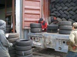 Минпромторг РФ предлагает запретить импорт бывших в употреблении покрышек