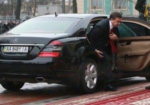 Процессия Януковича попал в ДТП. 1 человек умер