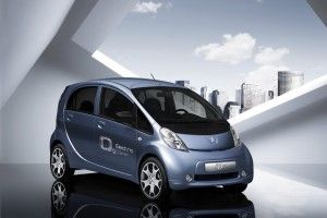 Пежо i0n – очередной французский электромобиль