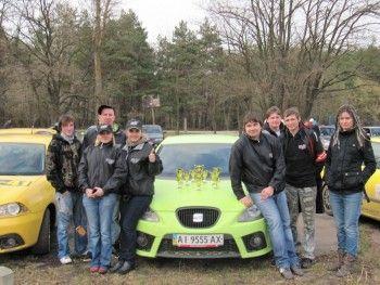 """Сеат призер """"открытого приза Subaru 2010"""""""
