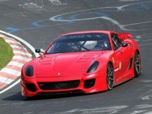 Супер-кар Феррари 599XX определил свежий рекорд Нюрбургринга
